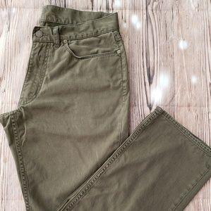 RALPH LAUREN POLO 32/30 Olive Jeans